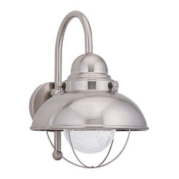 Sea Gull Lighting - Sea Gull Lighting-89571BLE-98-Serbing - One Light Outdoor Wall Mount - *Shade Included.