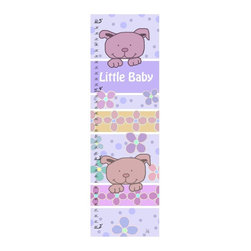 Green Leaf Art - Sweet Dogs Personalized Canvas Growth Chart - 10W x 39H in. Multicolor - YS35041 - Shop for Growth Charts from Hayneedle.com! Watch your little puppy get bigger with the Sweet Dogs Personalized Canvas Growth Chart - 10W x 39H in. It's true that they grow up too fast and a keepsake of their growth is the perfect way to look back on the years. Kids love to see how much they've grown and parents love to reminisce. This sweet chart is a darling memento you'll cherish as a family.