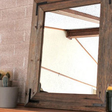 Rustic Mirrors by AES Mobile Studios