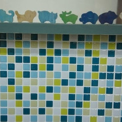 Tile Projects Using Tic Tac Tiles -