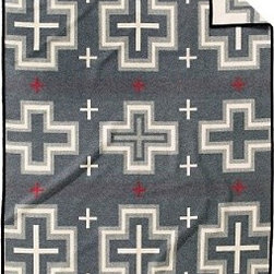 San Miguel Blanket - With the heritage of Pendleton, this blanket has a patter that's as clean and sophisticated as anything being designed today.
