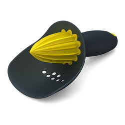 Joseph Joseph - Joseph Joseph Citrus Reamer, Grey - This hand reamer catches any debris whist allowing juice to drain through