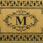 NuLoom Estate Monogrammed Welcome Door Mat, M - Door mats, doorbells, door knobs and door knockers can all enhance the look of the main entrance, so try to take advantage of their presence the best way you can.