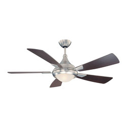 Savoy House - Zephyr Ceiling Fan - Ceiling Fan crafted of sleek contemporary styling.