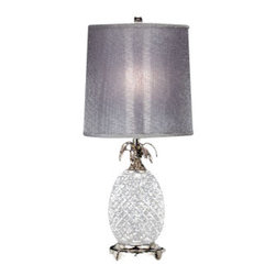 Waterford Crystal - Waterford Crystal Hospitality Lamp 156193 - Waterford Hospitality Table Lamp  -  Size: 26 inches high  -  Don't Buy From An Unauthorized Dealer  -  Genuine Waterford Crystal  -  Fully Authorized U.S. Waterford Crystal Dealer  -  Stamped With The Waterford Seahorse Symbol Of Excellence  -  Waterford Table Lamps Collection