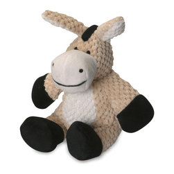 Go Dog - Go Dog Checkered Plush Donkey Dog Toy with Chew Guard - 770965 - Shop for Dog Toys from Hayneedle.com! Some donkeys are stubborn but the GoDog Checkered Plush Donkey Dog Toy with Chew Guard is always up for a good game of catch. This durable puppy toy is crafted using Chew Guard design that provides a double-stitching on the soft exterior and a tough inner liner that knows just how much some puppies want to play. There's a range of sizes available so find the one that's right for your breed.