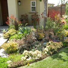 Eclectic Landscape by Renee French Landscape Design
