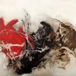"SCANDINAVIAN ART FACTORY - LARGE ARTWORK - PAINTING-""EXPRESSION"""