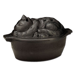 Black Matte Cat Steamer