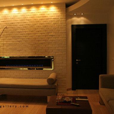 Modern Fireplace -