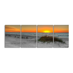 Ready2HangArt - Ready2hangart Bruce Bain 'Rising Sun' Canvas Wall Art - This beautiful canvas wall art is from photographer Bruce Bain. His work employs elements of imagination to capture a variety of subjects. It is fully finished, arriving ready to hang on the wall of your choice.
