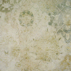 Worn out True Fresco Wall - Classic wall surfaces traditionally done in fresco. Designs are inspired by various cultures over thousands years of fresco history. In addition to classic imagery, a variety of contemporary and modern ornamental design patterns are adapted to fresco by our artists.
