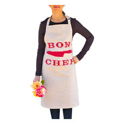 Bon Chef Apron - Create a culinary masterpiece with this bon chef apron! Keep your clothes clean and cook with enthusiasm.