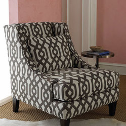 Massoud - Gray Graphic Chair