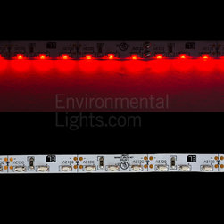 EnvironmentalLights - Red 3014 Side View LED Strip Light 96/m 8mm wide Foot - Sold by the 5 meter reel, foot and sample kit.