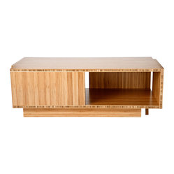 Compact Coffee Table in Bamboo