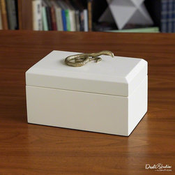 Global Views - Global Views Snake Box - Snake Box by Global Views.All Global Views products are made of natural materials & ship in recyclable packaging.