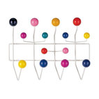 Herman Miller - Eames Hang-It-All | Design Within Reach - The Hang-it-All rack was originally created with children in mind. Although it would be perfect in any kid's room, I picture it in a stylish entryway, laundry or mud room.