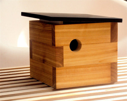 modern birdhouses by Etsy