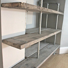 Industrial Wall Shelves by Inspiritdeco