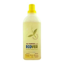 Ecover All Purpose Cleaner - Case Of 12 - 32 Oz - Ecover All Purpose Concentrate Cleaner is a vegetable based soap that uses a sugar based surfactant to ensure a powerful and all natural clean. The All Purpose formula is extremely effective and can be used on a wide array of surfaces to give your home an all over clean feeling and fresh scent. Its ingredients are all natural, biodegradable, and safe for the home and the environment.