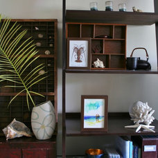 tropical shelves