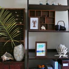 tropical shelves