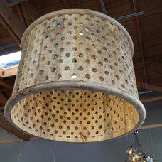 Eclectic Chandeliers by Inhabiture Build + Design