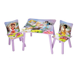 Disney Fairies Table and 2 Chairs Set