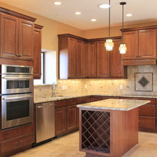Traditional Kitchen Cabinets by Pennington Builders