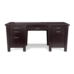 Jesper Office - 900 Collection Large Desk | Jesper Office - Work efficiently and effectively ...