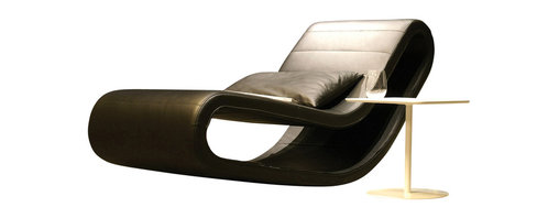 B&T Design - Daydream Lounge Chair, Gazebo Eco-Leather Aqua - 1830 - Daydream Lounge Chair