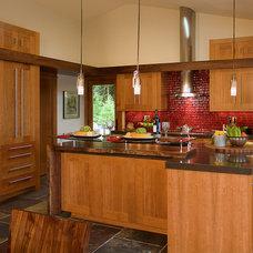 Contemporary Kitchen by Alicia Interiors