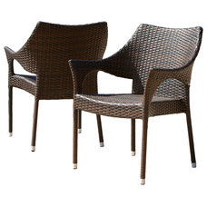 Tropical Outdoor Lounge Chairs by Great Deal Furniture