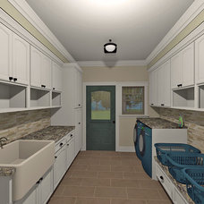 Traditional Rendering by Designer's Ink Graphic & Building Designs, LLC