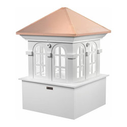 G.D. - Good Directions Smithsonian Chesapeake Cupola - Good Directions is proud to have been selected by the Smithsonian Institution to design and market their exclusive line of Cupolas. More substantial than other PVC or PVC-coated products, our Vinyl Cupolas are constructed from solid vinyl plank and board, which makes them maintenance-free and able to resist the elements.