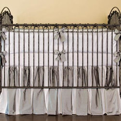 Home Decorators Collection - Venetian Crib - The classic shape of our iron Venetian Crib is characterized by the smoothly arched head and foot and the intricately crafted embellishments. This baby crib comes with everything you need to create three different styles. Easily screw on the posters for a four-poster crib, add the cross bars to form a canopy or leave the posters and cross bars off for a traditional look. Wrought iron in durable powder-coated finish with hand-applied patina. Includes four posters and canopy cross bars. Assembles three different ways: four-poster, canopy or traditional.