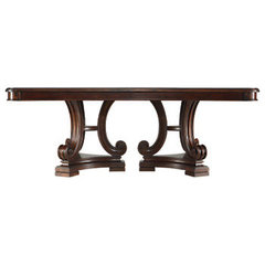 traditional dining tables by Stanley Furniture