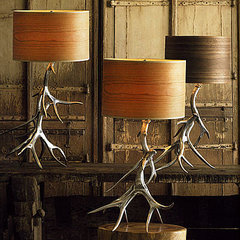 eclectic table lamps by GI Designs
