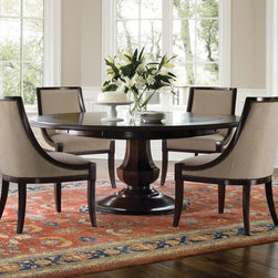 Brownstone Sienna Round DIning Table - rowstone Sienna Round Dining Table