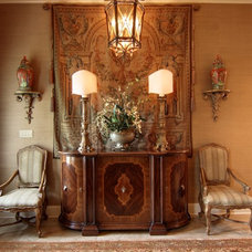 traditional entry by Nelson Wilson Interiors