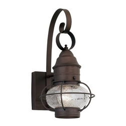 "Designers Fountain - Designers Fountain 1761-RT 1 Light Outdoor 10"" Onion Wall Lantern from the Nantu - Features:"