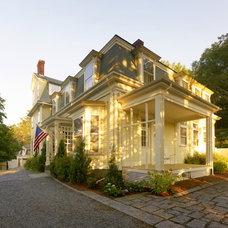 Traditional Exterior by Susan Hunter Interiors