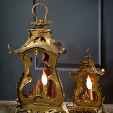 Asian Table Lamps by Mothology