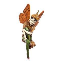 Hand-Painted Flower Fairy