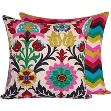 Traditional Decorative Pillows by Chloe and Olive LLC