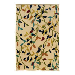 "Oriental Weavers - Indoor/Outdoor Lagos 8'6""x13' Rectangle Ivory-Multi Area Rug - The Lagos area rug Collection offers an affordable assortment of Indoor/Outdoor stylings. Lagos features a blend of natural Ivory-Multi color. Machine Made of Polypropylene the Lagos Collection is an intriguing compliment to any decor."