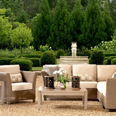 Outdoor Sofas by All American Fine Outdoor Furnishings