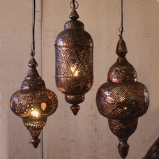 Mediterranean Pendant Lighting by Iron Accents