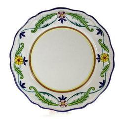 Artistica - Hand Made in Italy - Corona Lite: Dinner Plate (Simple Decor - Sim) - Corona Collection.